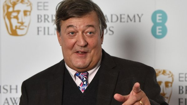 Stephen Fry is supporting Seachtain na Gaeilge