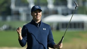 Jordan Spieth ends his wait for a win on home soil