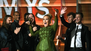 Adele triumphed at the Grammys in LA on Sunday
