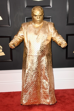 Miss: There are words to describe Gnarly Davidson (aka CeeLo Green)'s outfit...they're just not good.
