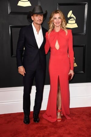 Best: Wow - Faith Hill's Zuhair Murad dress is stunning. Tim McGraw looks great too - even if he has to wear his stetson.