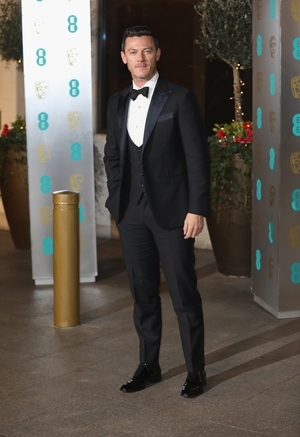 Welsh actor Luke Evans looked dapper on the night.