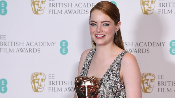 Emma Stone - Her Best Actress win was one of five BAFTAs for La La Land