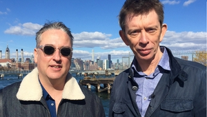 Seamus McGarvey and John Kelly in Brooklyn, went they met for the latest episode of The Works Presents.