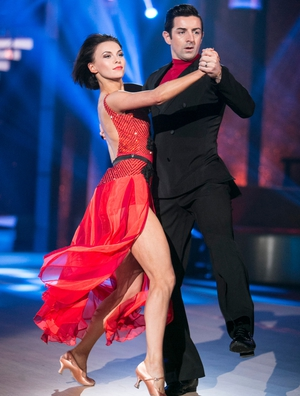 Week 6: Aidan O'Mahony looked like a smooth operator as he tango'd to Phil Collins' Easy Lover.
