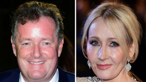 The JK Rowling/Piers Morgan Twitter spat is never ending