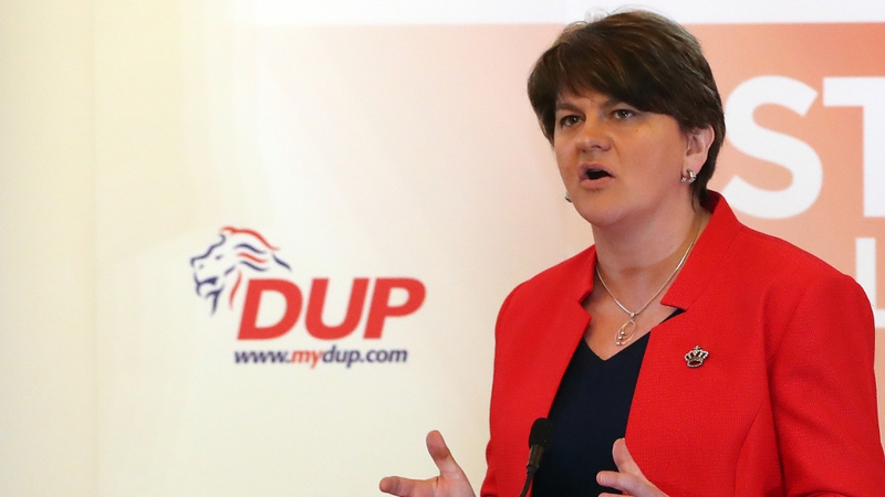 Arlene Foster rubbished the Taoiseach's hope that the UK will U-turn on Brexit