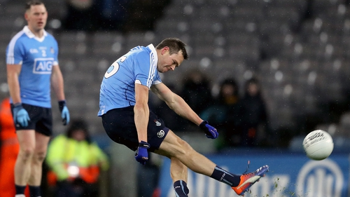 Dean Rock held his nerve with an injury-time free against Tyrone