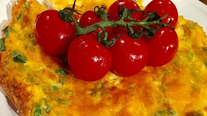 This is a perfect dish for all the family and a great way to introduce kids to fish, think of it as a really tasty omelette that can be enjoyed hot or coldand would double up as a great lunch box item.