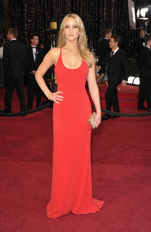 Super sexy and looking like Jessica Rabbit at the 83rd Oscars in 2011 in a gorgeous Calvin Klein dress. Hitting the red carpet at 20... unbelievable!