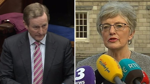 Enda Kenny admits Katherine Zappone's office consulted his officials