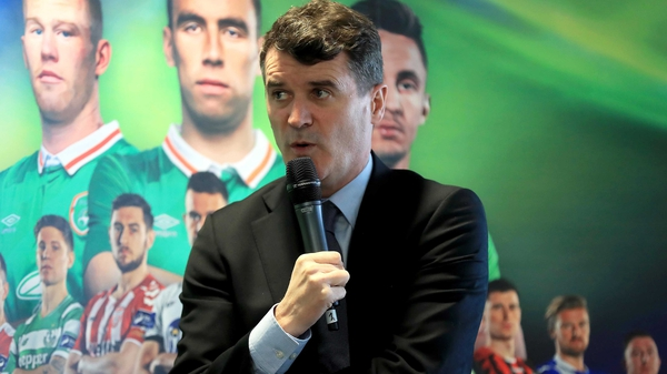 Roy Keane was speaking at the launch of the SSE Airtricity League season at the Aviva Stadium today