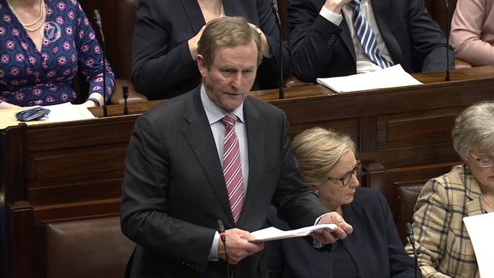 Taoiseach tells Dáil he is  'guilty' of giving inaccurate information