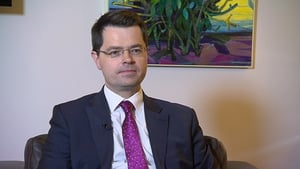 James Brokenshire was due to meet US President Donald Trump as part of the annual St Patrick's Day visit to Washington