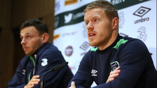 Andy Boyle and Daryl Horgan both received call-ups to the Ireland squad last year on the back of superb displays for Dundalk in domestic and European competition