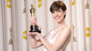 To countdown to this year's Academy Awards, we are looking at some of Hollywood's best dressed every day until this year's show. Today, we're checking out the stylish and funny Anne Hathaway.