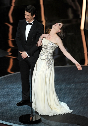 Don't faint! Although, you are completely breathtaking in this Givenchy gown at the ceremony in 2011.