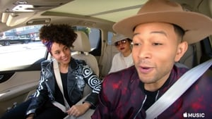 Alicia Keys and Mr Legend hit all the rights notes in the new Carpool Karaoke trailer