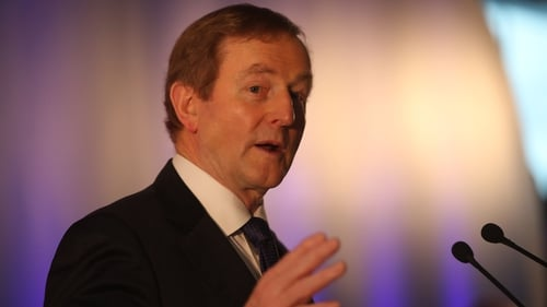 Enda Kenny had said he would deal with the leadership issue after the 29 April EU Council meeting