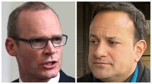 Ministers Simon Coveney and Leo Varadkar