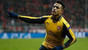 Alexis Sanchez's future with the Gunners remains uncertain