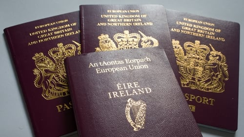Sammy Wilson was asked about the rise in Irish passport applications north of the border