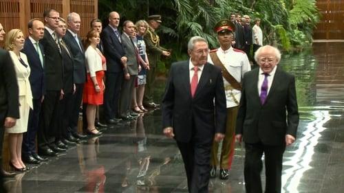 President holds talks with Raúl Castro