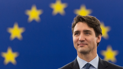 Eurpean Union is an unprecedented model for peaceful co-operation, says Canada's Justin Trudeau