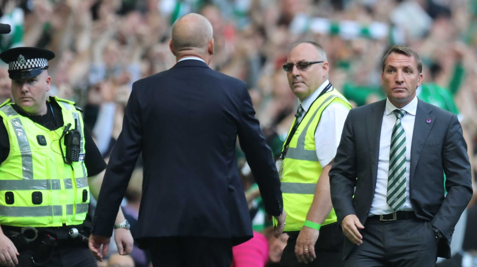 Rodgers sad to see 'outstanding' Warburton leave