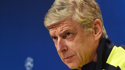 Wenger says he remains focused on the job in hand and isn't thinking about his future.