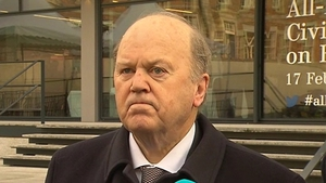 The Fine Gael members objected to a line about Michael Noonan in the report
