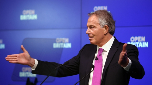 Tony Blair said the approach to Brexit means Scottish independence is back on the table