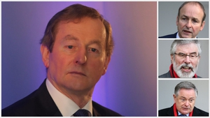 Support for Enda Kenny's Fine Gael has dipped since Election 2016