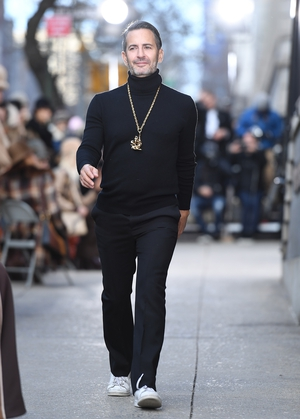 February 16th Day 7: The coolest designer, Marc Jacobs himself at his fashion show.