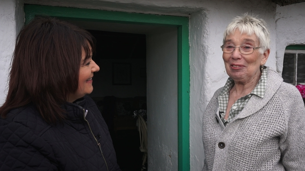 Countrywide's Brenda with Margaret Gallagher