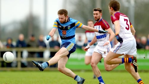 Jack McCaffrey on the charge for UCD in the Sigerson Cup semi-final