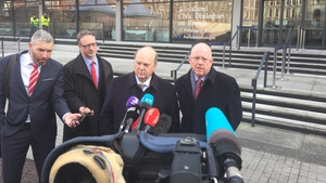 Irish civil servants, diplomats and politicians are on the road trying to lobby in the corridors of power around Europe