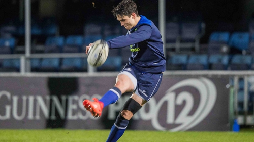 Joey Carbery has signed a senior contract with Leinster