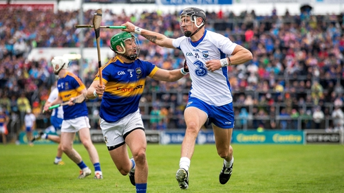 Maurice Shanahan in action against Tipperary in last year's Munster final