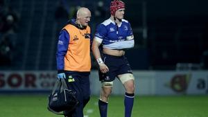 Josh van der Flier was withdrawn in the victory over Edinburgh due to injury