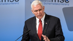 Mike Pence said he spoke for Donald Trump when he promised an 'unwavering' commitment to the NATO military alliance