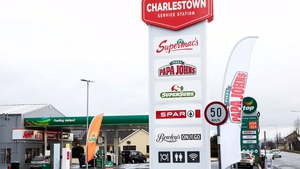 Charlestown Service Station includes fast-food outlets, a coffee dock and a convenience shop