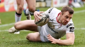 Tommy Bowe touched down for Ulster at the weekend