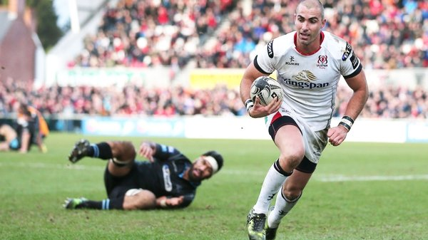 Ruan Pienaar in action for Ulster