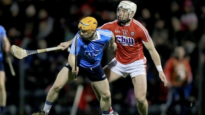 Cork's Patrick Horgan with Ben Quinn of Dublin