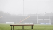 Mist hangs over Pearse Stadium ahead of the game Division 1B between Galway and Wexford