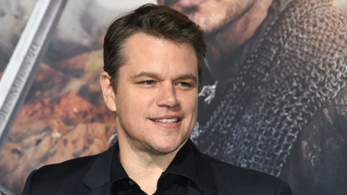 """Matt Damon - """"How awesome would that be? Watching the Atlantic crashing over the Irish cliffs, the rain coming down, the grey skies. I love the weather"""""""