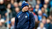 Derek McGrath watches on as his Waterford team take on Tipperary