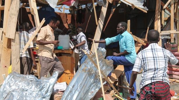 Somalia market bomb