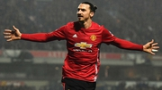 Zlatan Ibrahimovic was the difference again for Manchester United